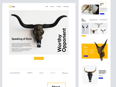 Landing page design for agency homepage web design website landing page landing