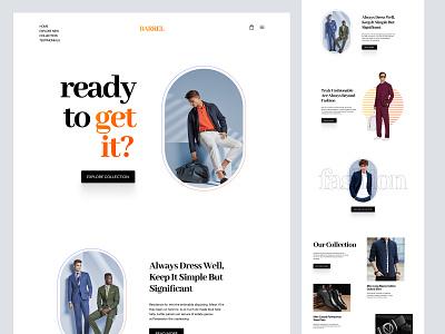 Shopify landing page design concept woocommerce ecommerce store ui shopify store shopify