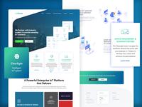 IoT Company Website Design