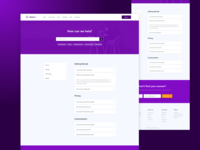 FAQs Page Design