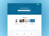 Knowledge base page design idea