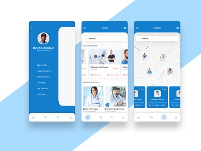 Doctors App Design Concept