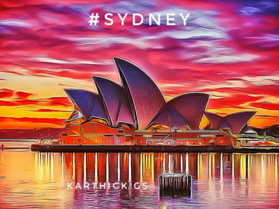 Sydney Illustration karthick studios australia digital art sydney