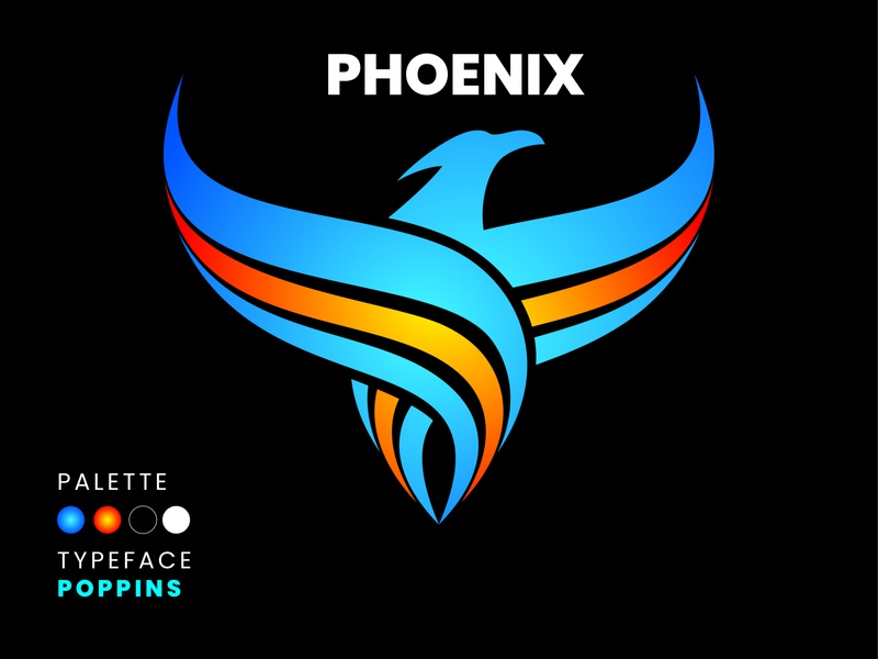 Phoenix digital art nature branding logo sketch design illustration phoenix suns phoenix logo phoenix bird illustration bird logo bird
