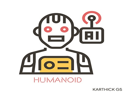 Artifficial Intelligence humanoid artificial intelligence