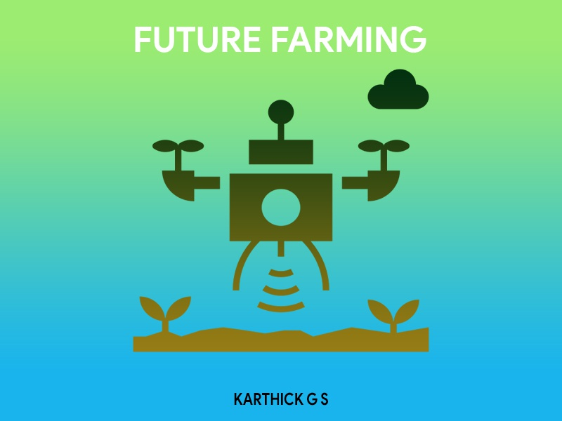 Future Farming karthick studios nature illustration farming future nature plants