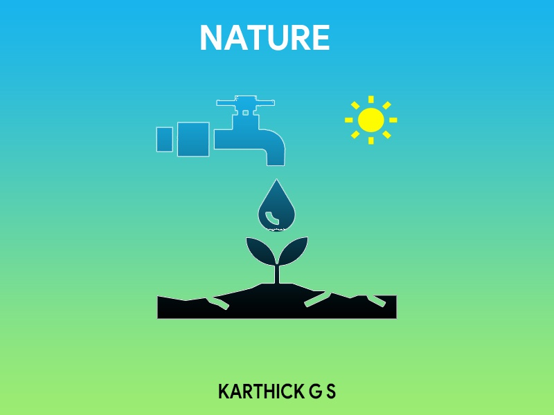 Nature Needs Water scarcity water nature