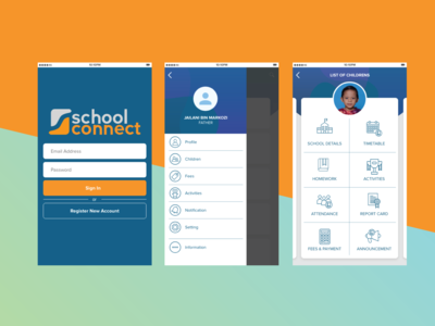 School Connect Mobile UI