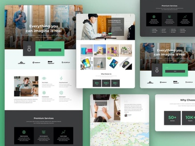 Elementor Agency Template Kit responsive templatekit template agency inspiration design web design minimal web creative