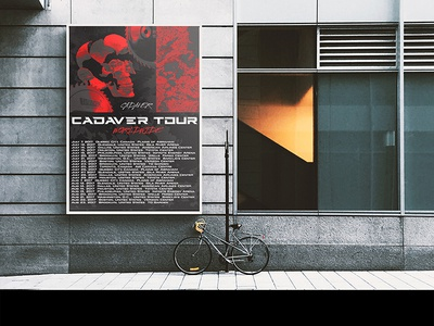 CADAVER Tour - Billboard