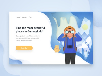 Go-Gk Travel Landing page