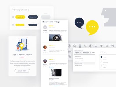 Yellow UI library