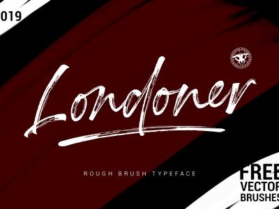Londoner, Brush Script Font