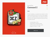 Minimalist Eshop Product Page - Free .PSD