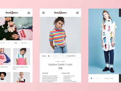 Eshop Mobile Product Pages - Free .PSD ui ux webdesign shop mobile product free psd freebie free fashion eshop app