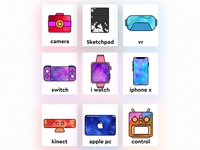 Small objects icon