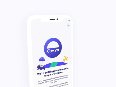 Visiting something new ios 10 fintech insurance travel ui simple app characters design vector flat illustration ios 12 animation ios