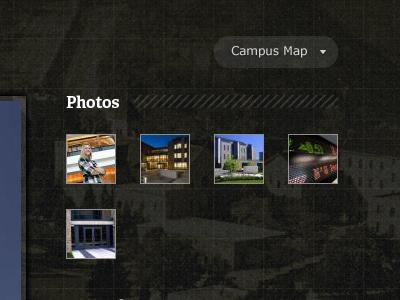 Campus Map map dark texture