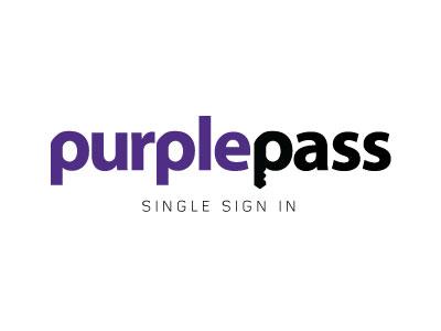Purplepass Logo logo purple illustrator