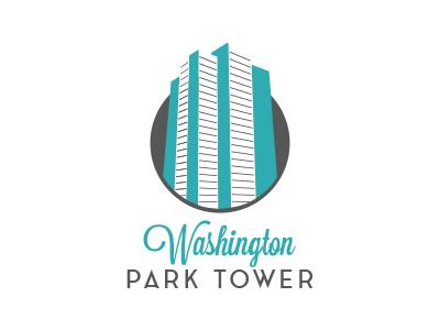 Washington Park Logo building tower logo
