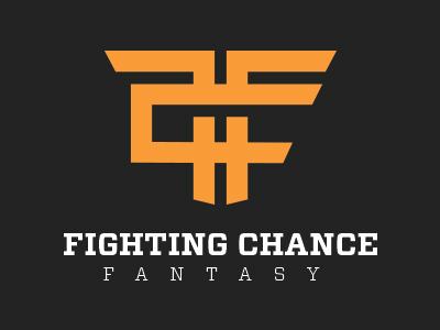 Fighting Chance Fantasy Logo fantasy logo sports