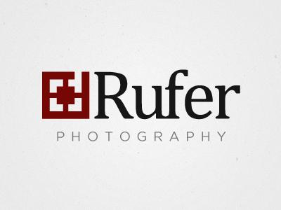 DRufer Logo logo photography focus