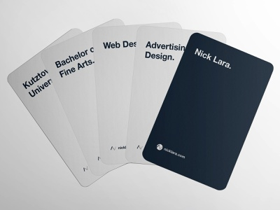 Nick Against the Job Market game vector design logo photoshop self promotion leave behind cards design cards against humanity cards branding illustrator