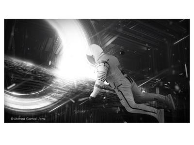 interstellar - Landing in the Tesseract