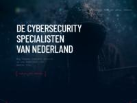 Cybersecurity company website
