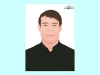 Vector Portrait design adobe illustrator. vector portrait vector illustration art vector art adobe illustrator illustration