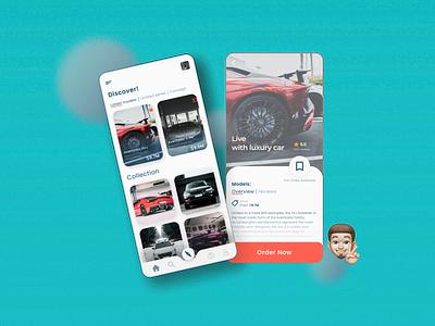 Luxury car | Mobile app ui design modern design modern mobile design branding mobile app mobile app design mobile ui ui design ux ui design