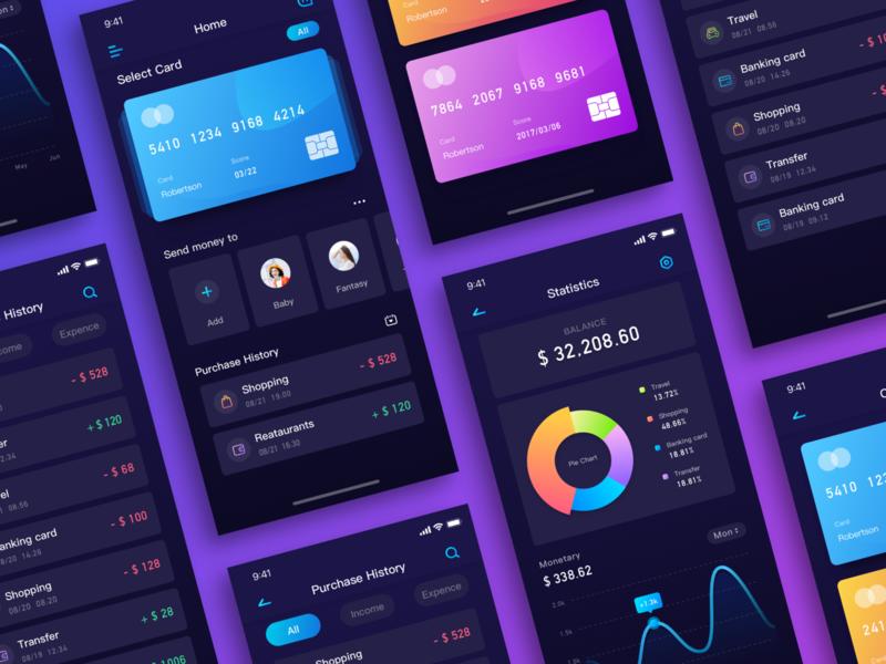 Wallet Design All design icon illustration app ui