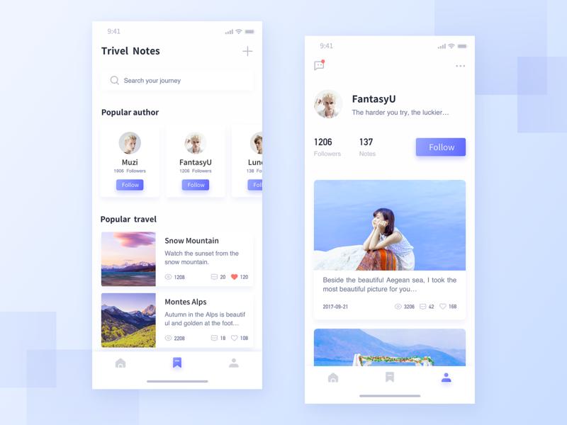 Tourism Interface-1 ux icon design app ui