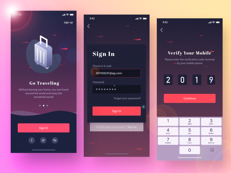Interface to see-2 ux icon app ui design