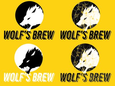 Wolf's Brew - Logo Options