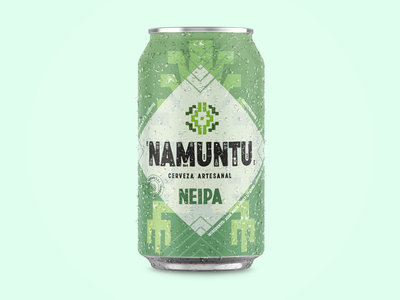 Namuntu Craft Beer Branding product design design branding and identity branding