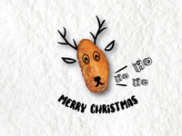 Chicken Wings Christmas Design 4