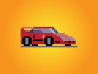 8 Bit Ferrari