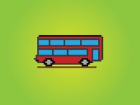 8 Bit London Bus