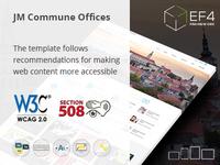 JM Commune Offices - accessible Joomla template