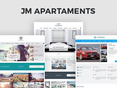 Hotel, Trips, Cars Catalog Joomla Template