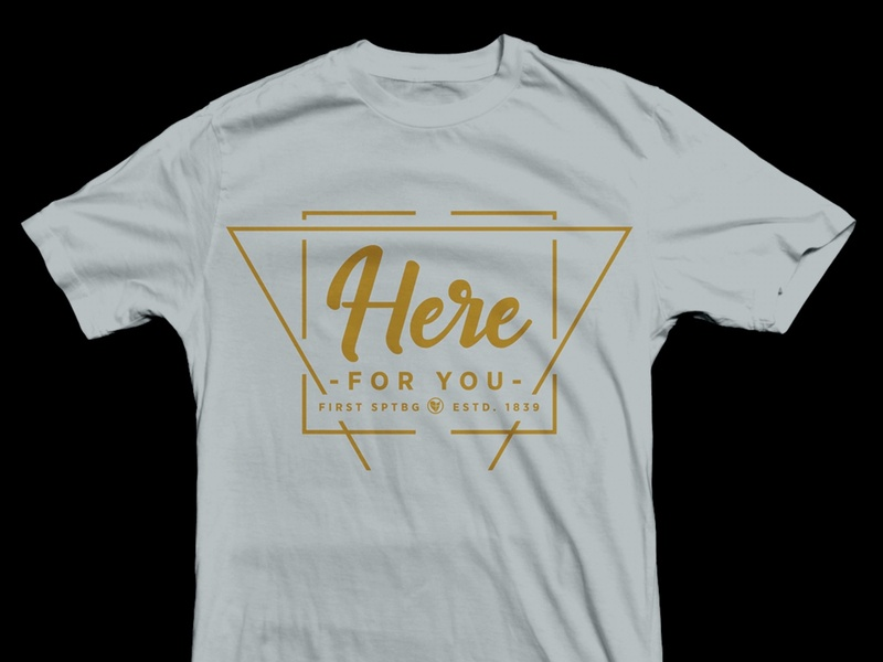 FBS Guest Services 2020 (unused concept) hometown welcome southcarolina sc spartanburg jesus ministry geometric tshirt