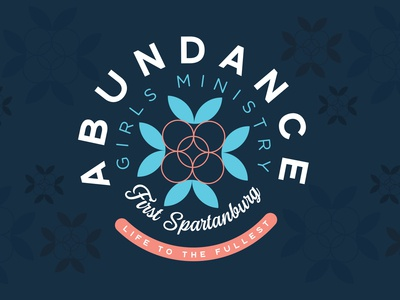 ABUNDANCE Logo reversed