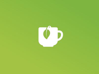 Tea icon trajlov leaf leaves plant green teacup cup mug tea logo