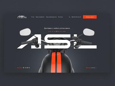 Dribblle ui logo web design clean website web ux  ui typography minimal design