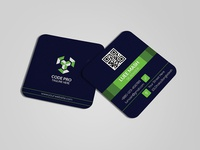 Square Professional Business Card