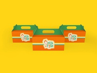 Food Packaging Design for Chick N' Fish