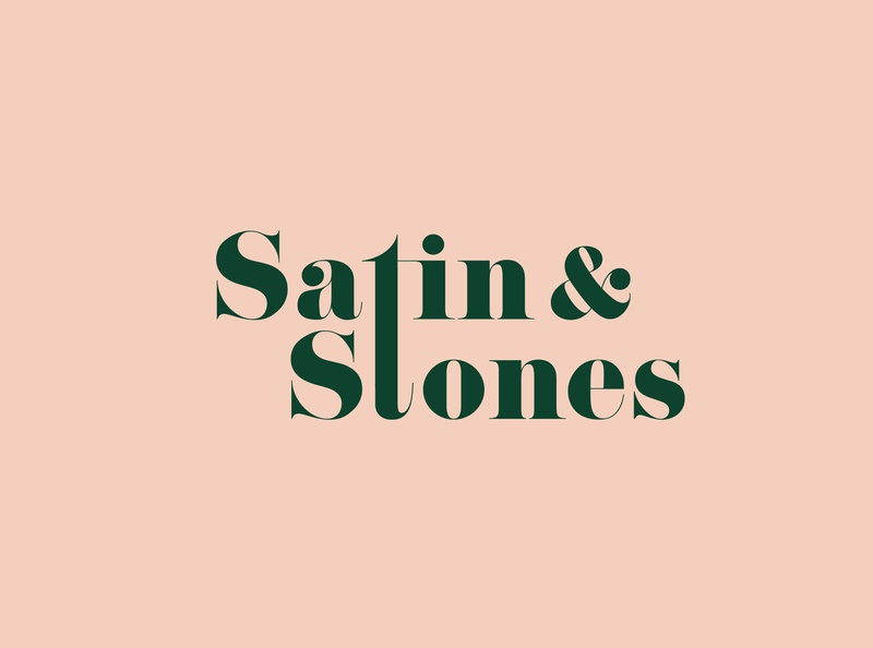Satin & Stones Logo Design