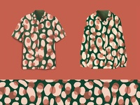 Satin & Stones Pattern Design and Illustration