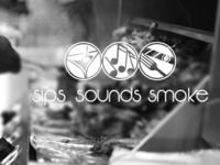 Sips Sounds Smoke Logo